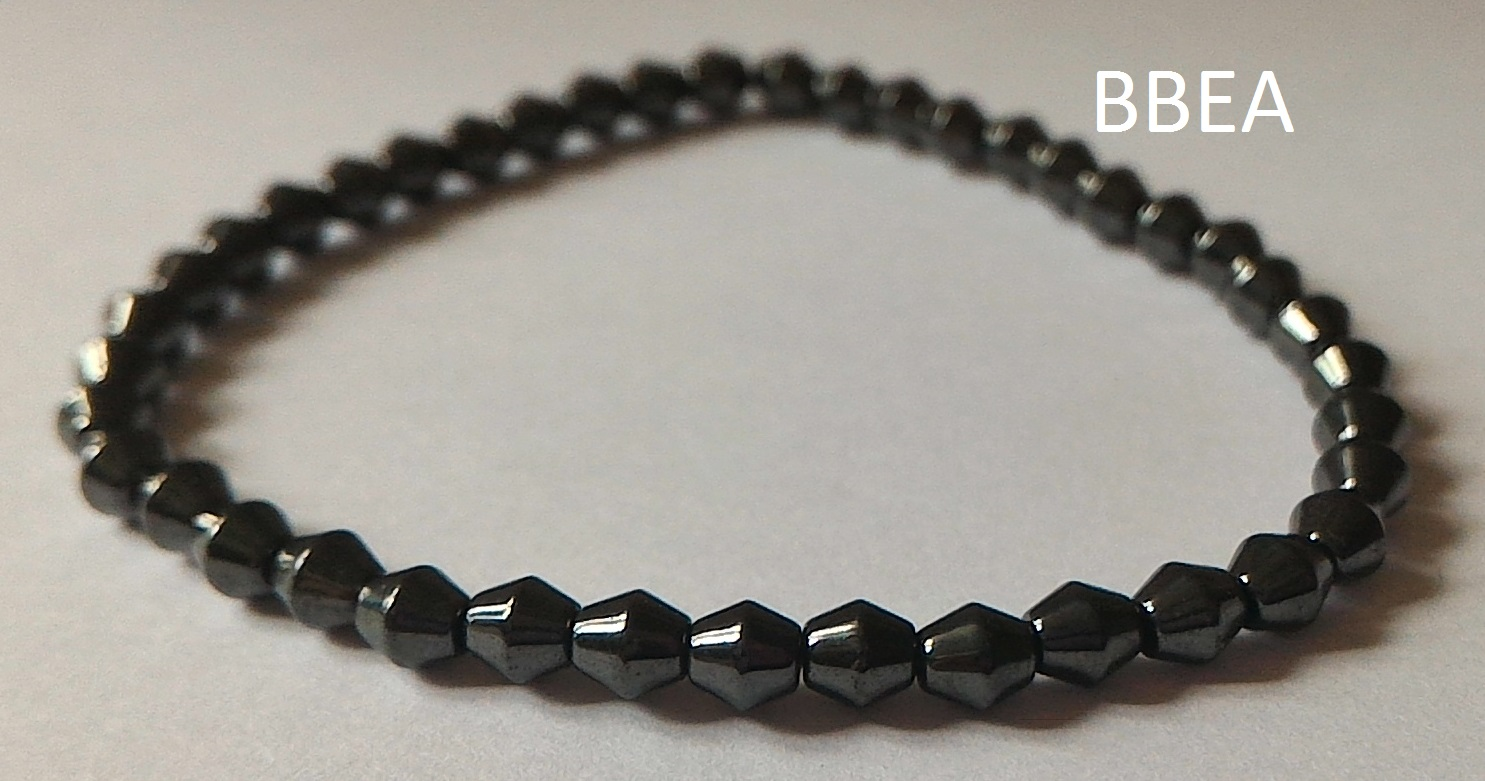 Bracelet hematite 17
