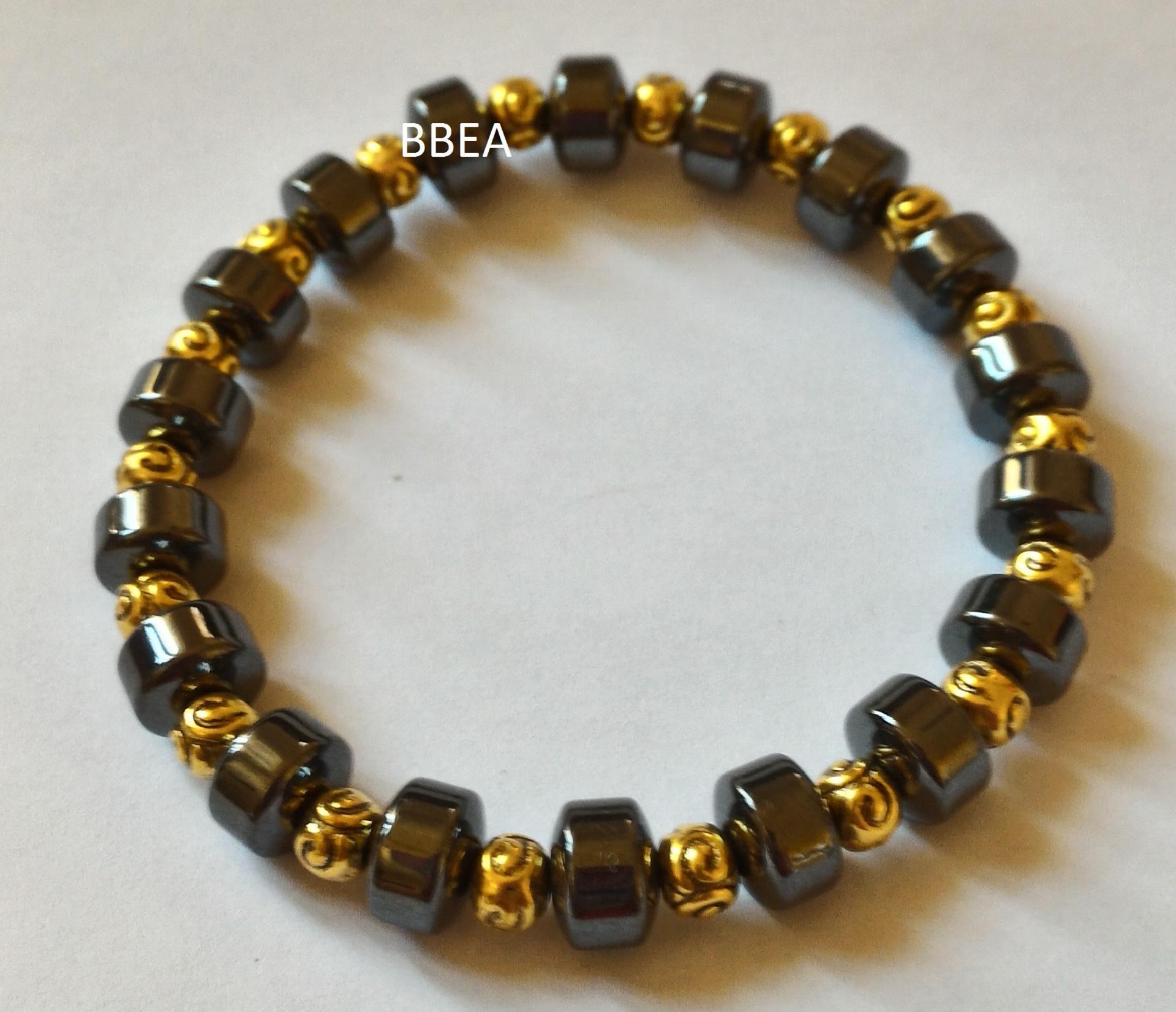 Bracelet hematite 2 1
