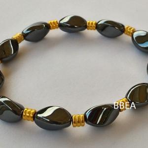 Bracelet hematite 2 2