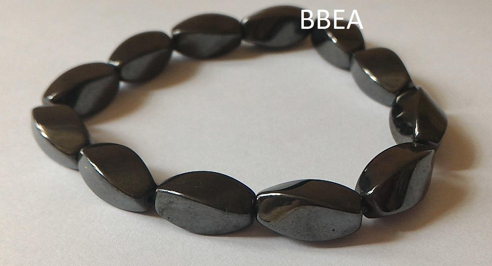 Bracelet hematite 20