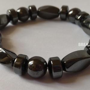 Bracelet hematite 21