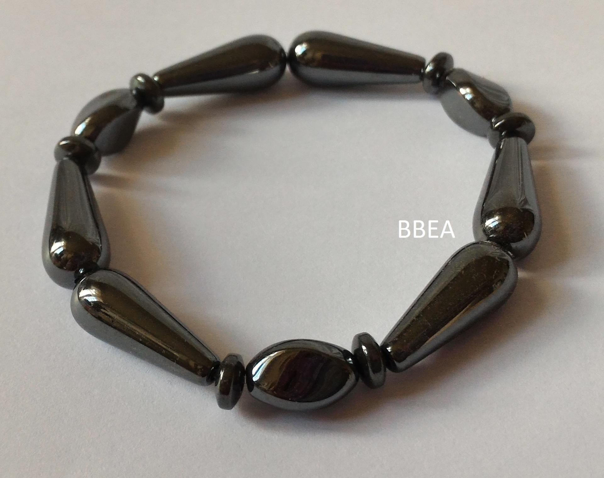Bracelet hematite 23