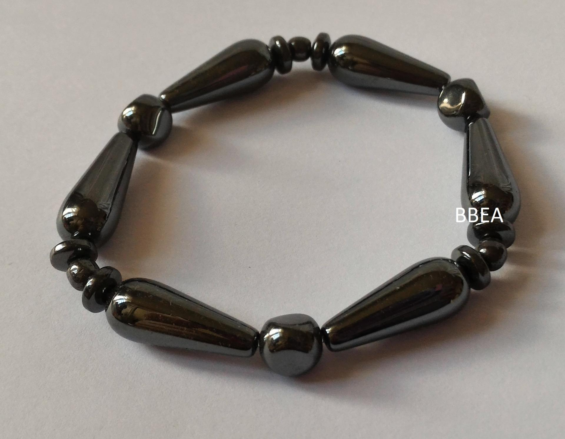Bracelet hematite 24