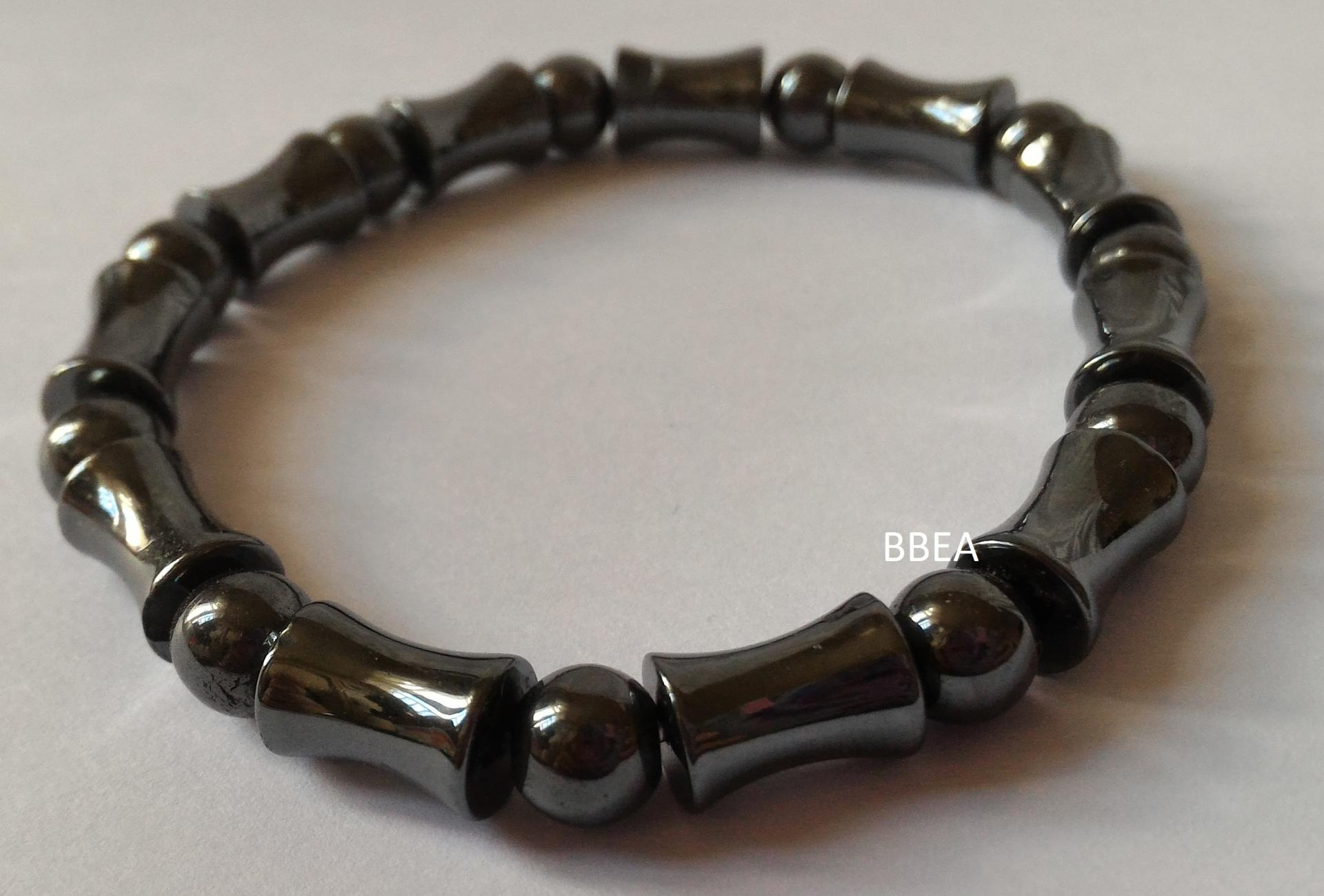 Bracelet hematite 25