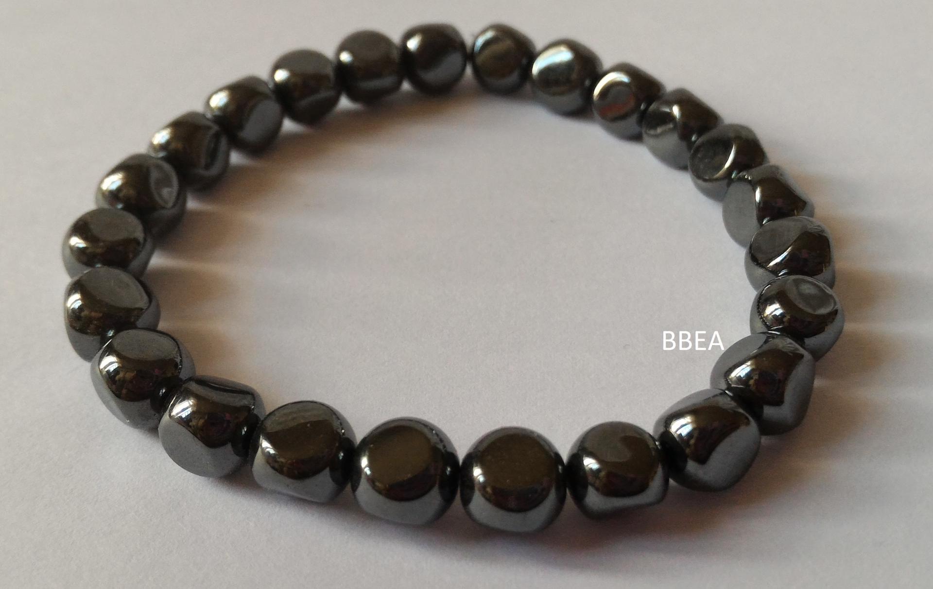 Bracelet hematite 27