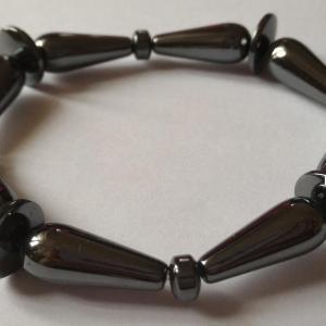 Bracelet hematite 3 1