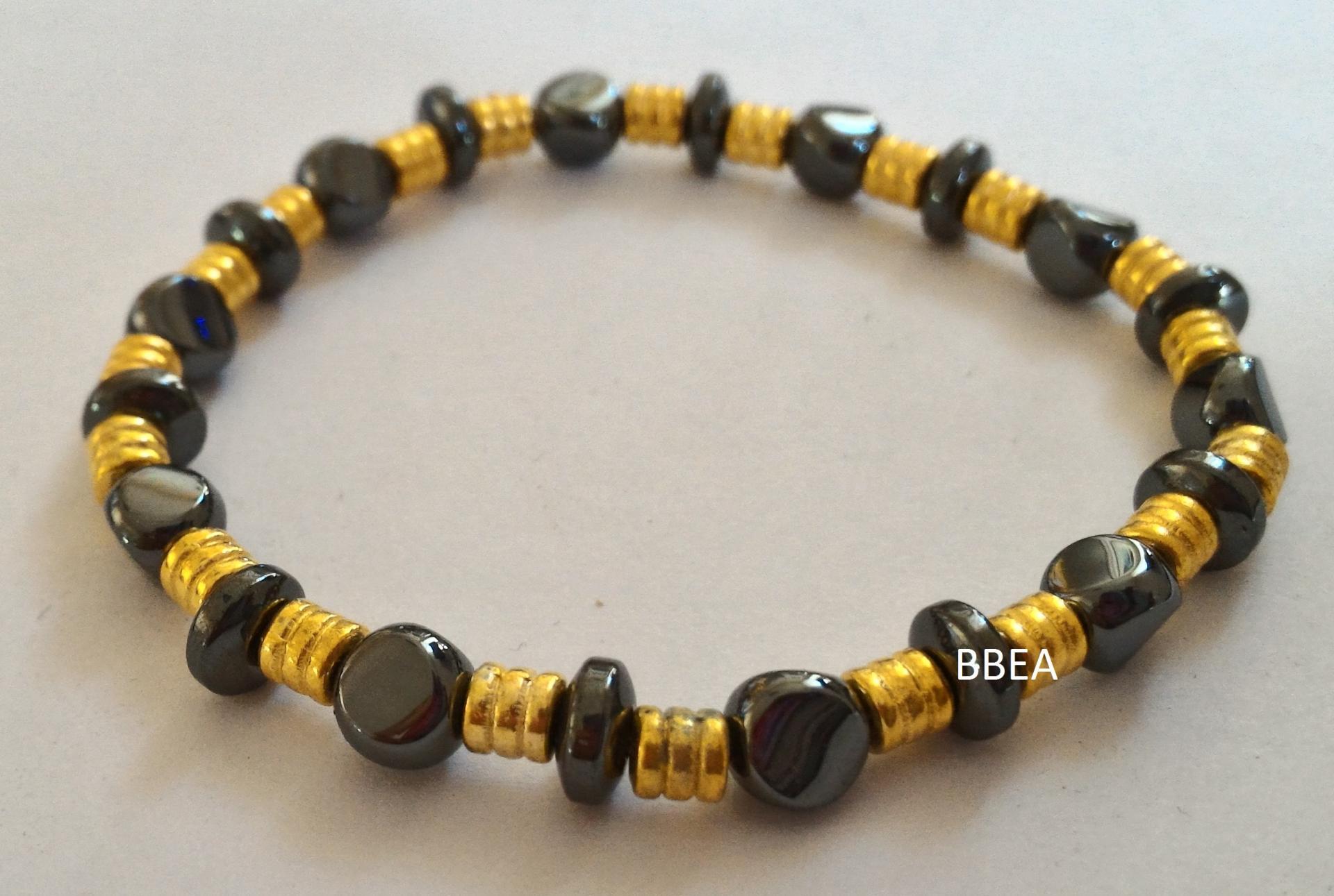 Bracelet hematite 3 2