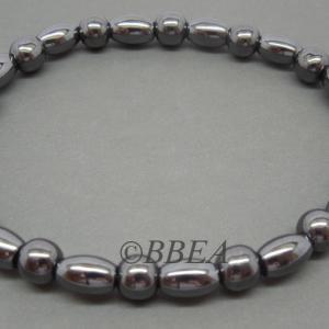 Bracelet hematite 3474