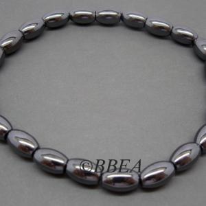 Bracelet hematite 3476