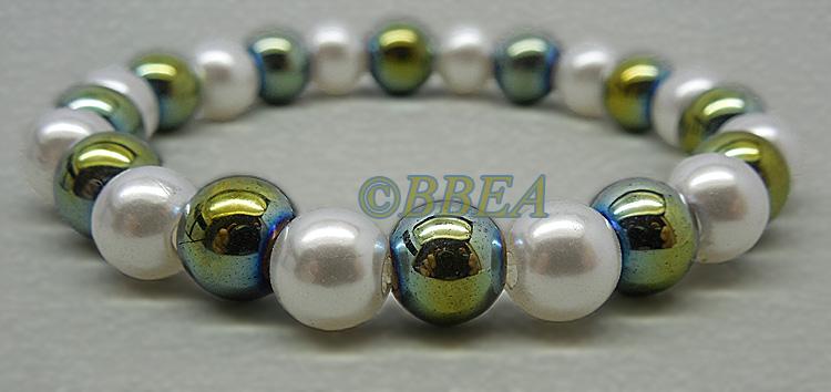Bracelet hematite 3651