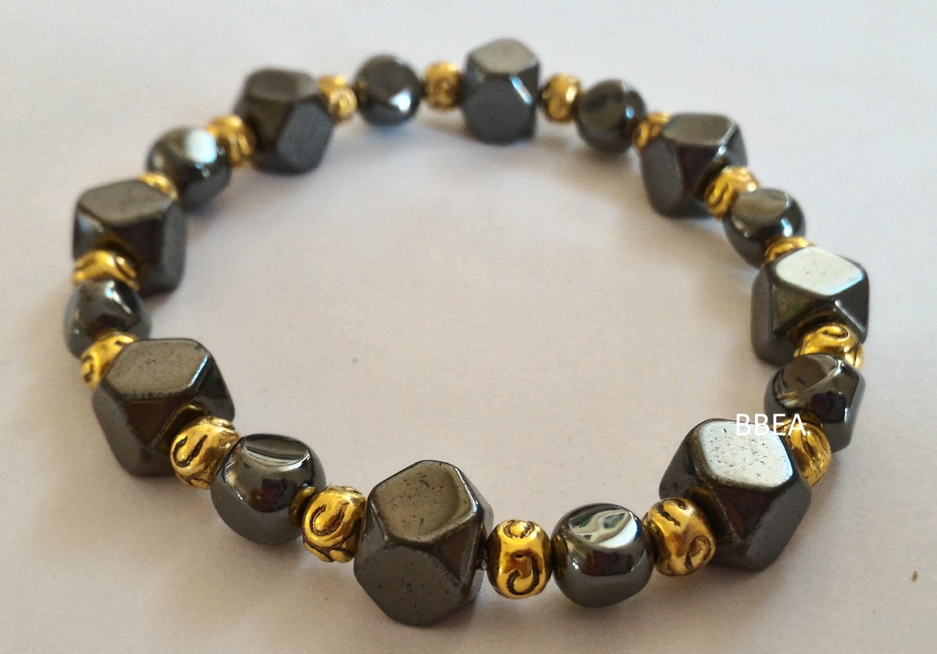 Bracelet hematite 4 2