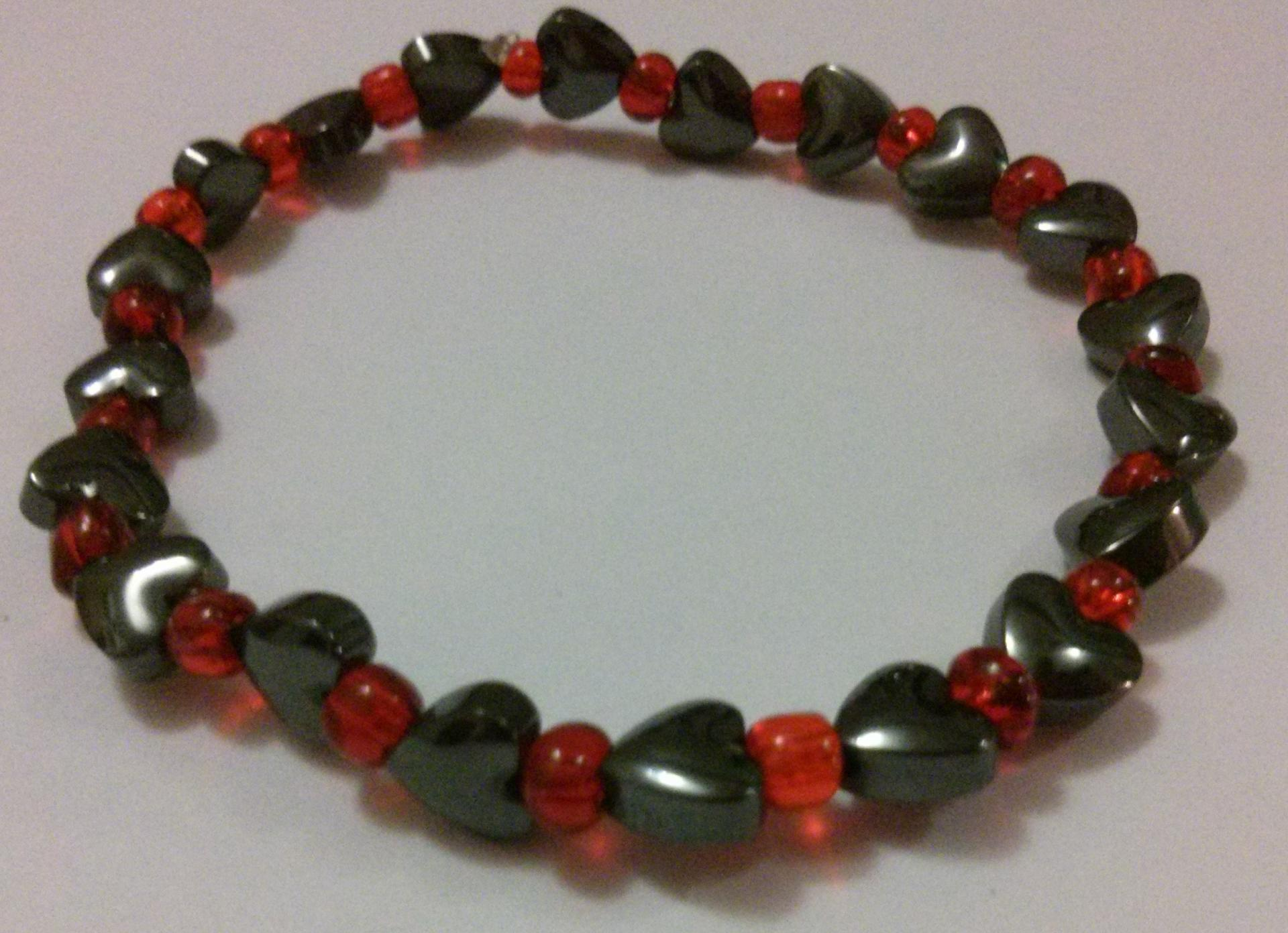 Bracelet hematite 4