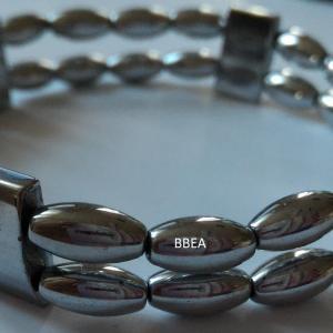 Bracelet hematite 5 1
