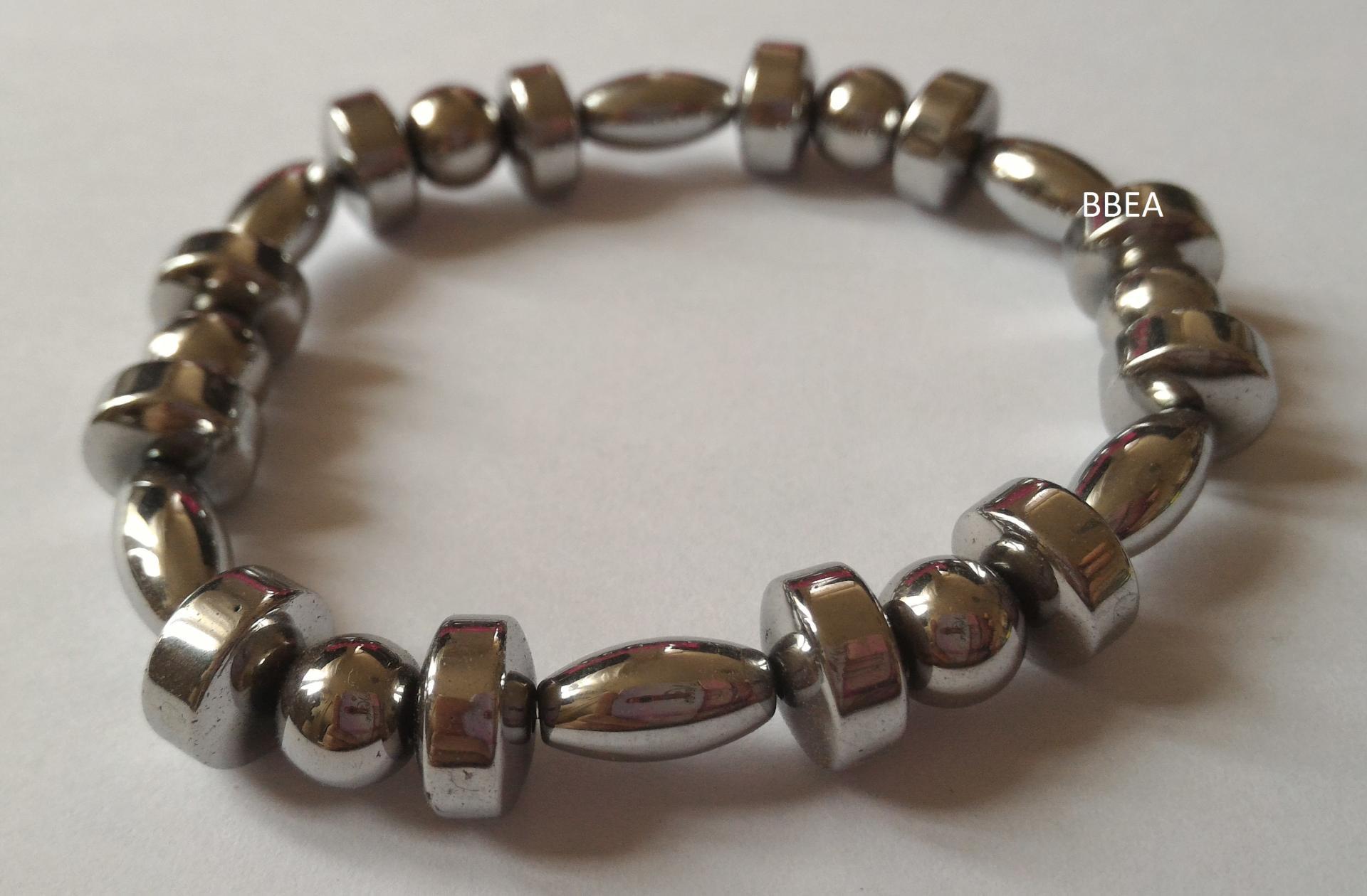 Bracelet hematite 5 2