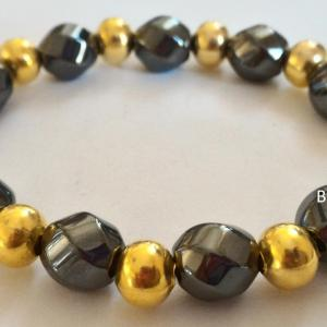 Bracelet hematite 5 3