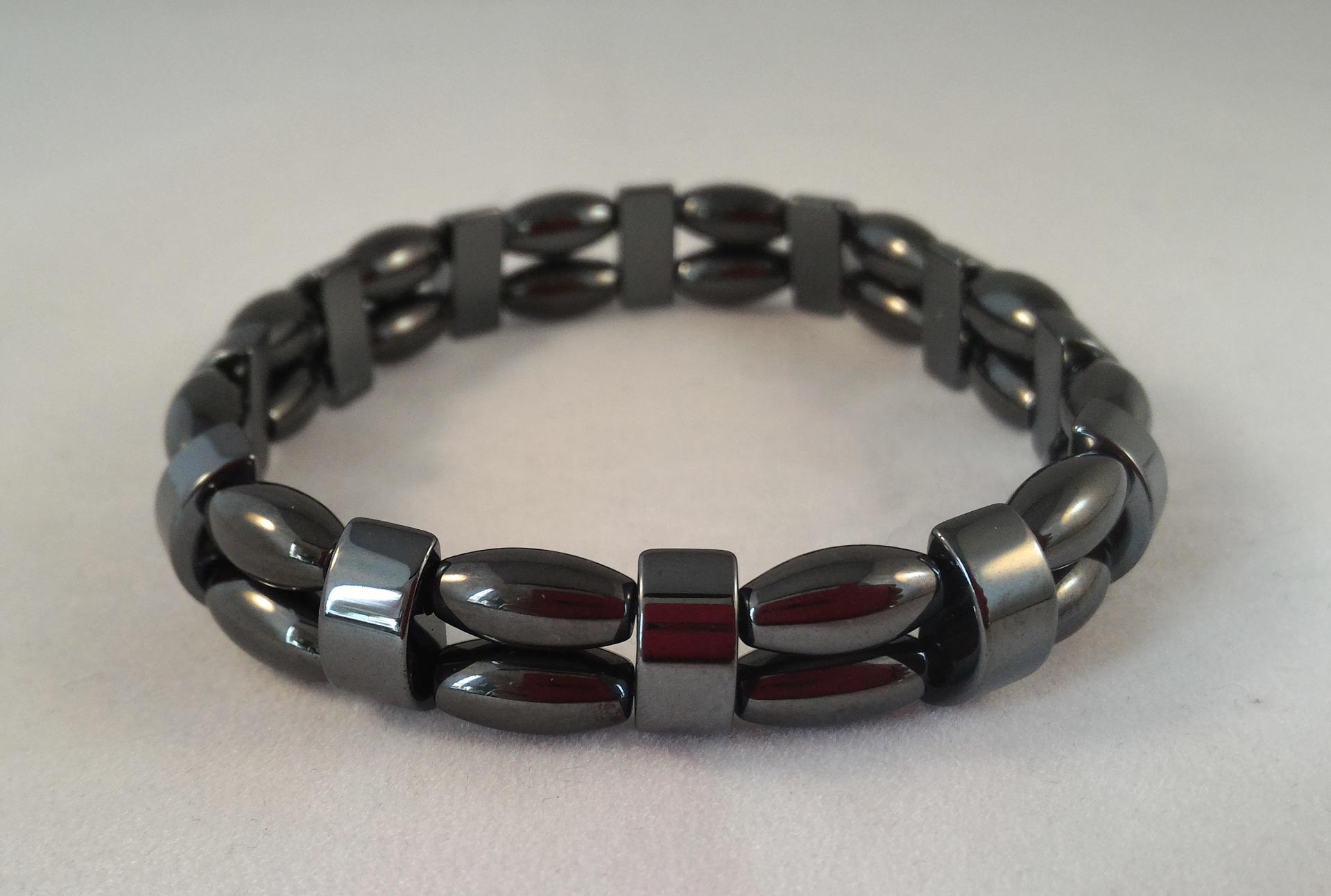 Bracelet hematite 5