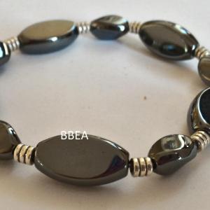 Bracelet hematite 6 3