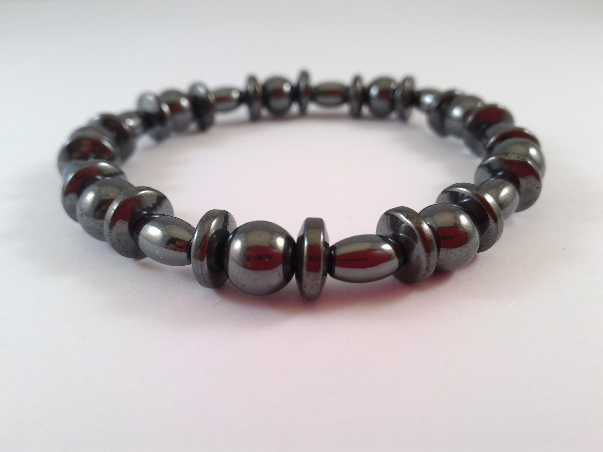 Bracelet hematite 6
