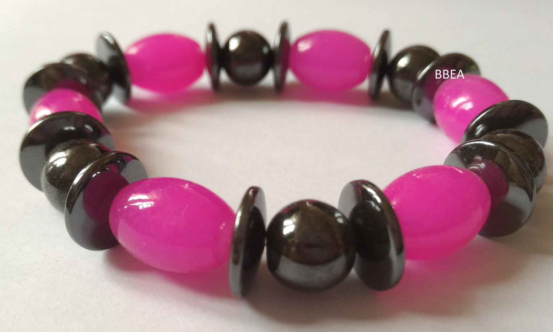 Bracelet hematite 7 1