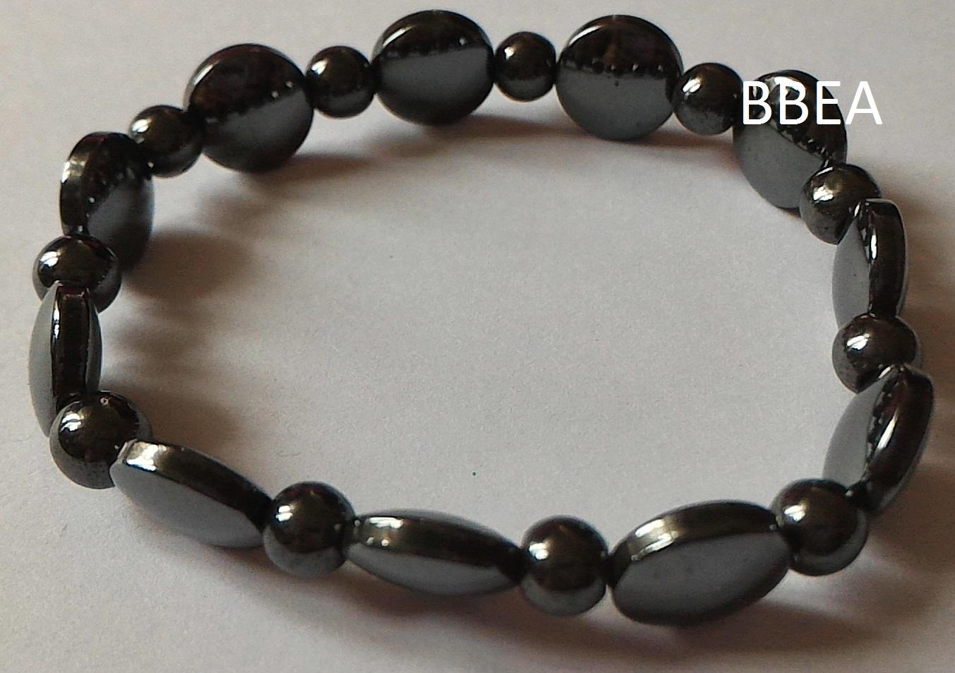 Bracelet hematite 8 1