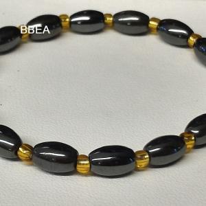 Bracelet hematite 8 2