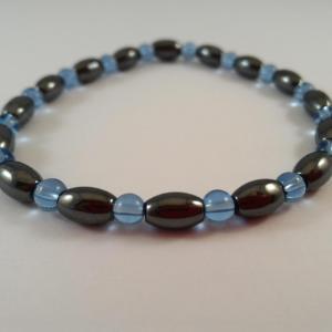 Bracelet hematite tonneau