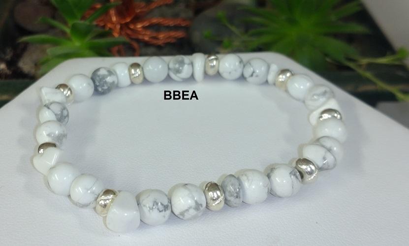 Bracelet howlite 1 3