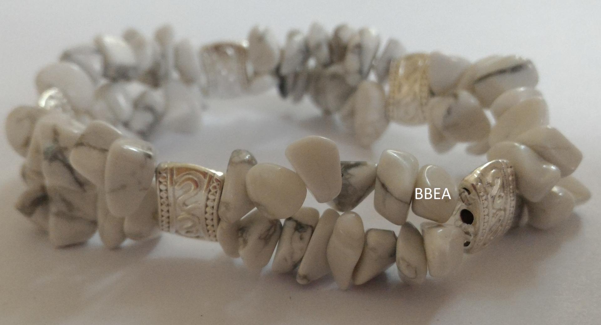 Bracelet howlite 2 1
