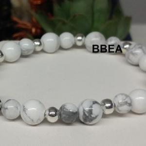 Bracelet howlite 2