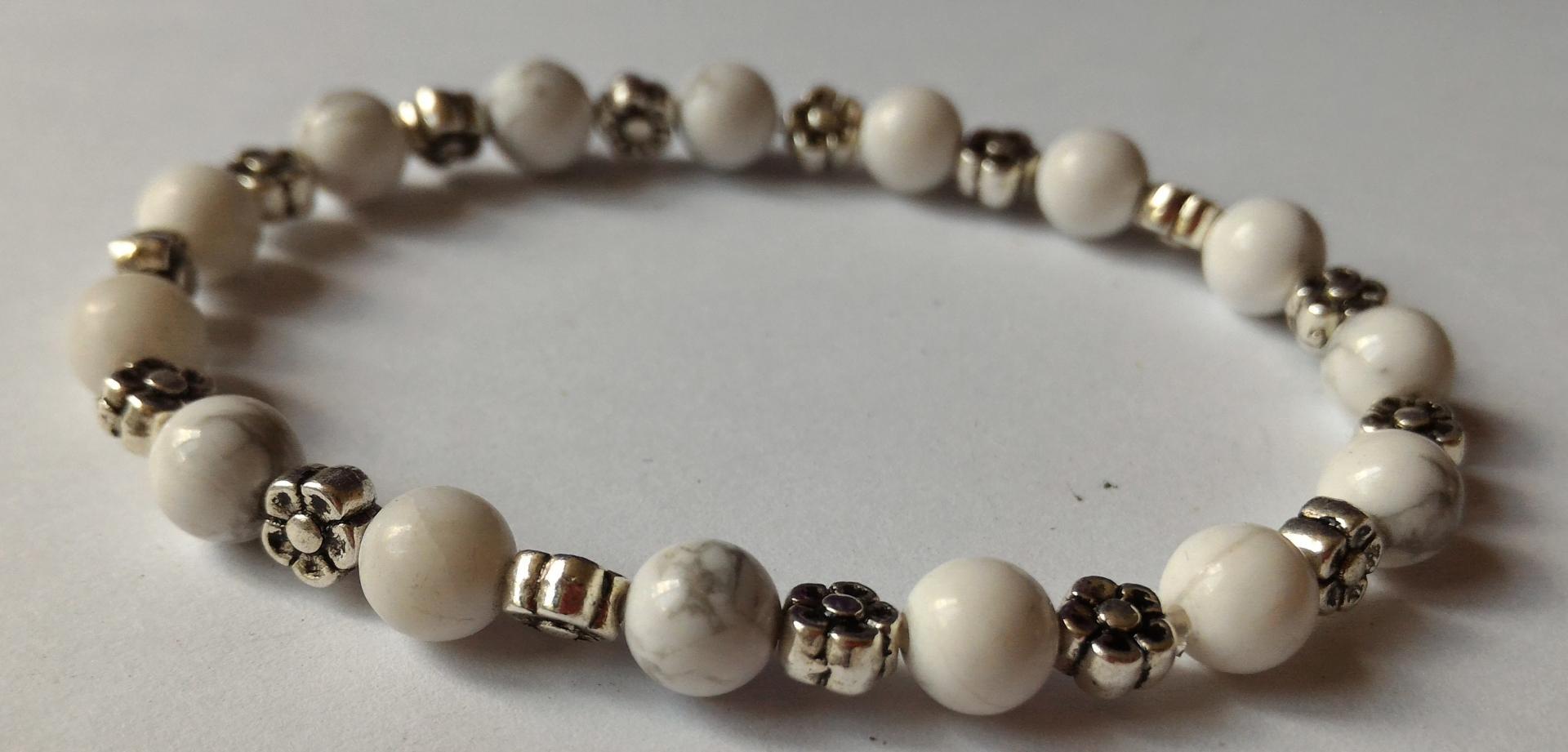 Bracelet howlite 3