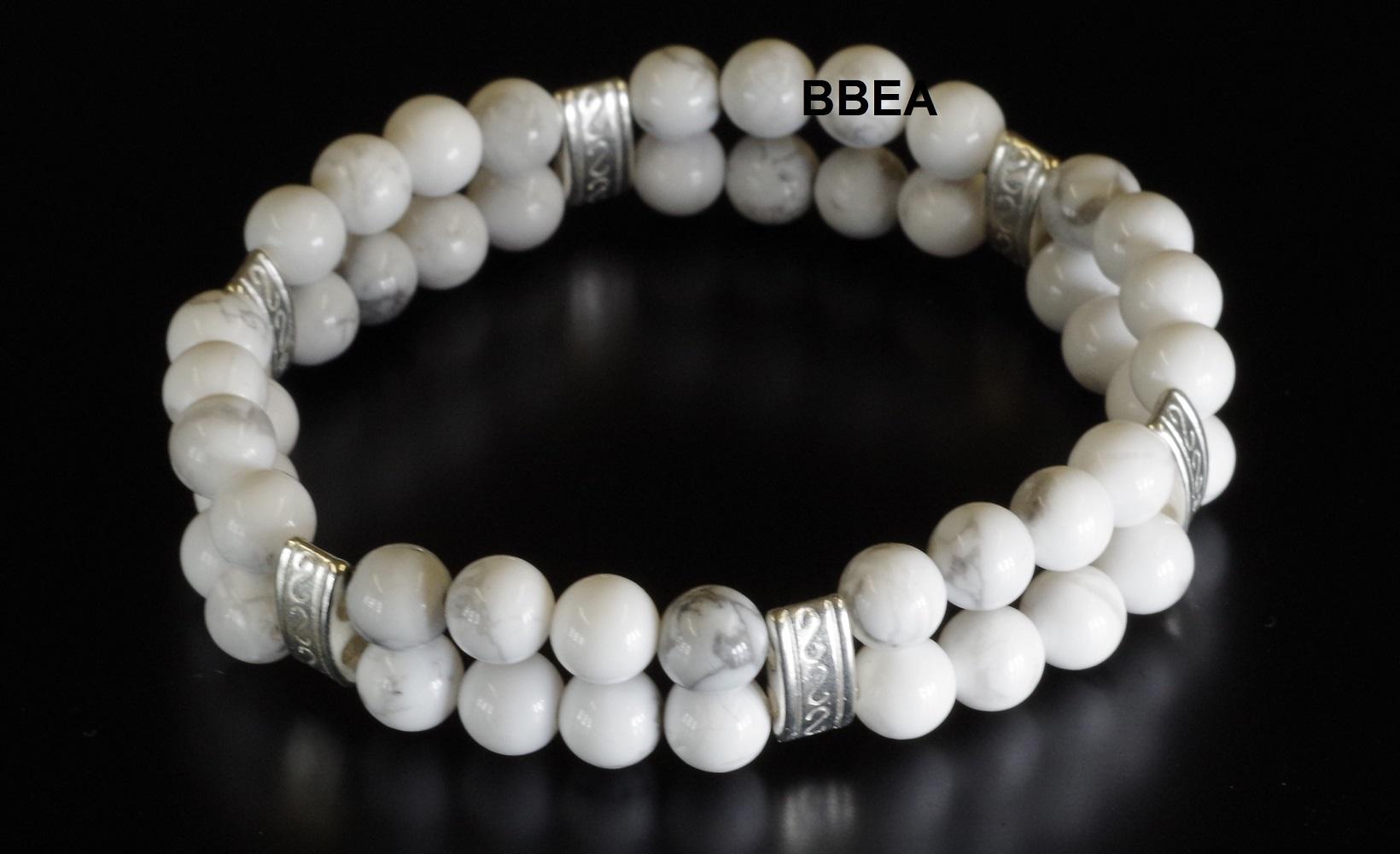 Bracelet howlite 5