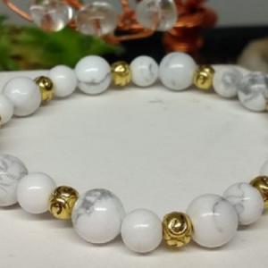 Bracelet howlite 6 1