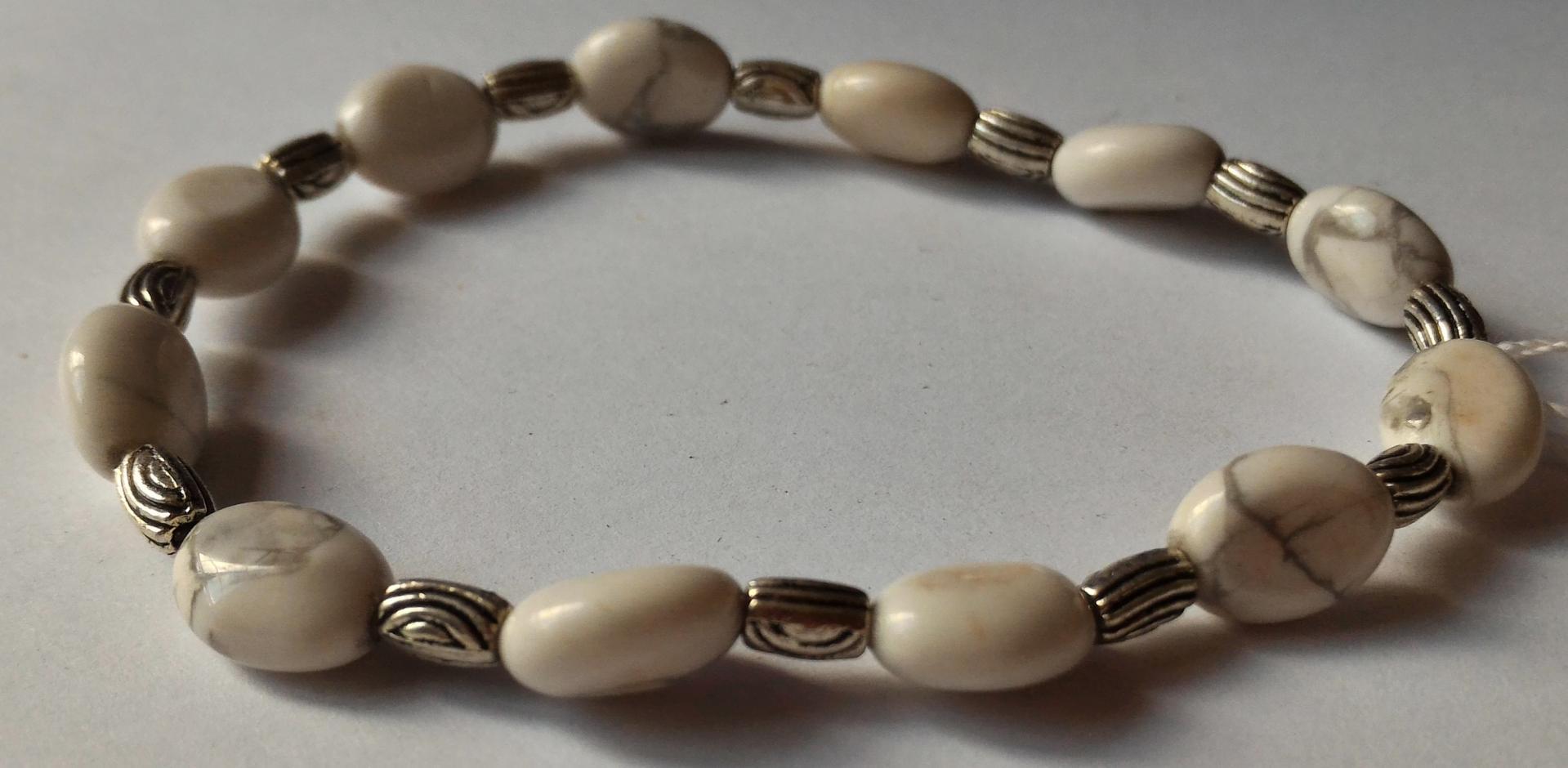 Bracelet howlite 8