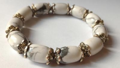 Bracelet howlite 9