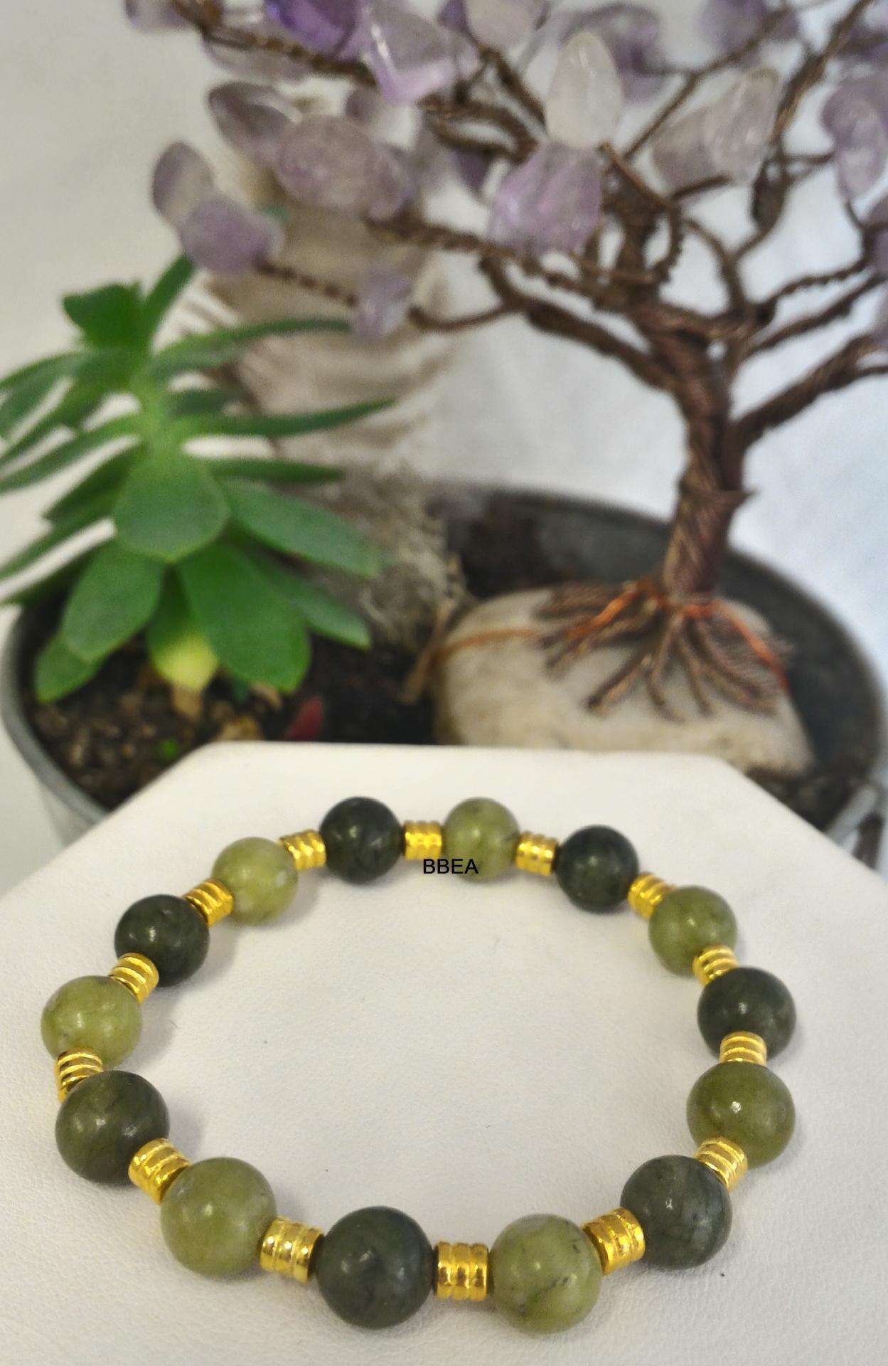 Bracelet jade 8