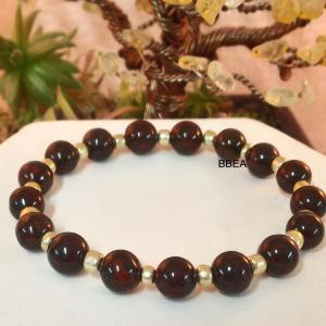 Bracelet jaspe brechia 2 3