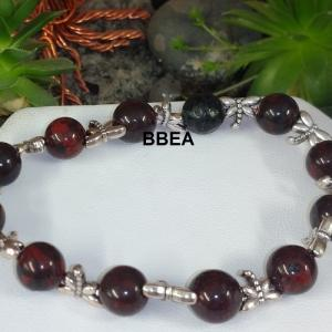Bracelet jaspe brechia 2 5