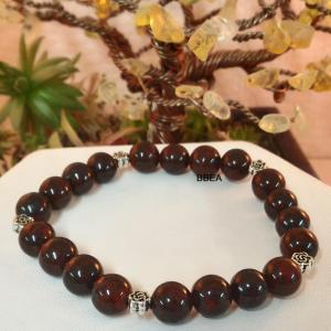 Bracelet jaspe brechia 3 1