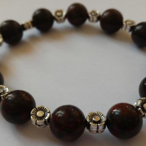 Bracelet jaspe brechia 3