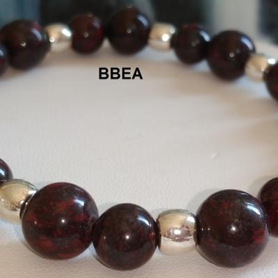 Bracelet jaspe brechia 6