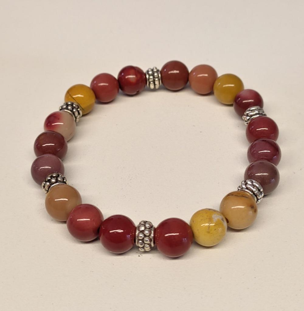 Bracelet jaspe moaite 6