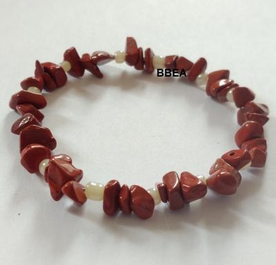 Bracelet jaspe rouge 2 1