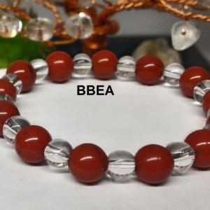 Bracelet jaspe rouge 3
