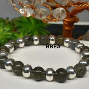 Bracelet labradorite 1