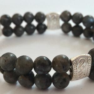 Bracelet labradorite 2 1