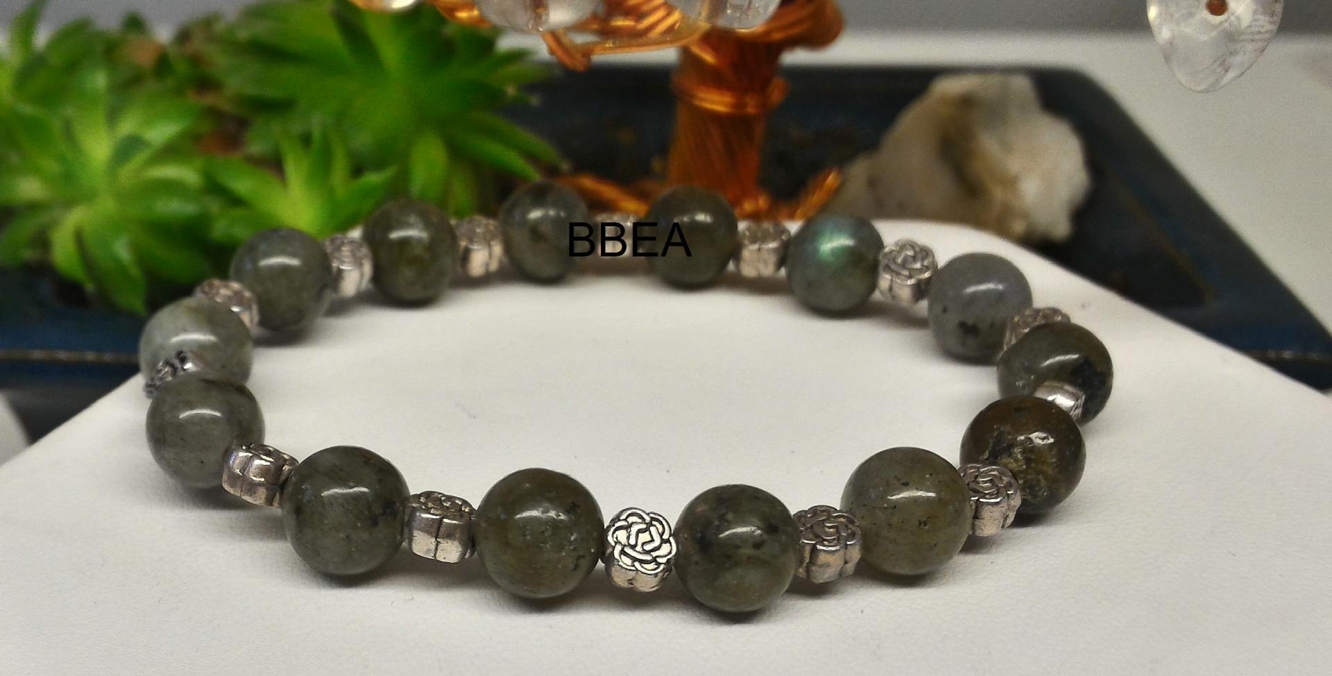 Bracelet labradorite 2 2