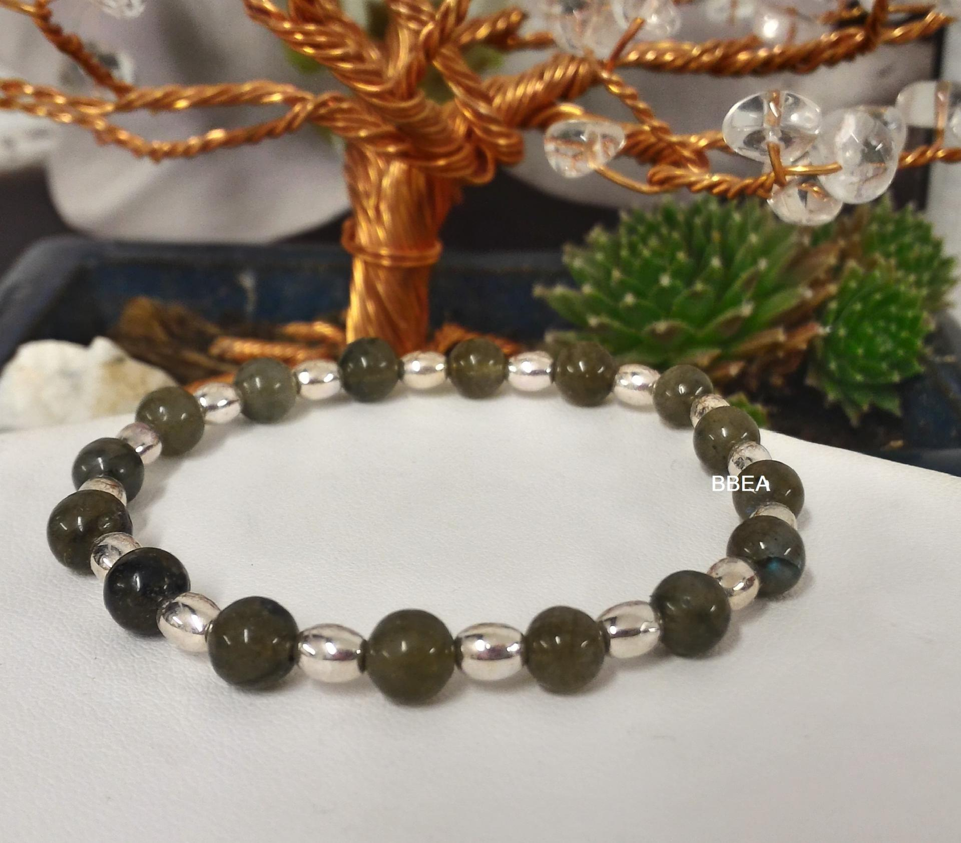 Bracelet labradorite 2
