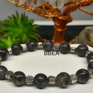 Bracelet labradorite 5 1
