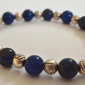 Bracelet lapis lazuli 2 1