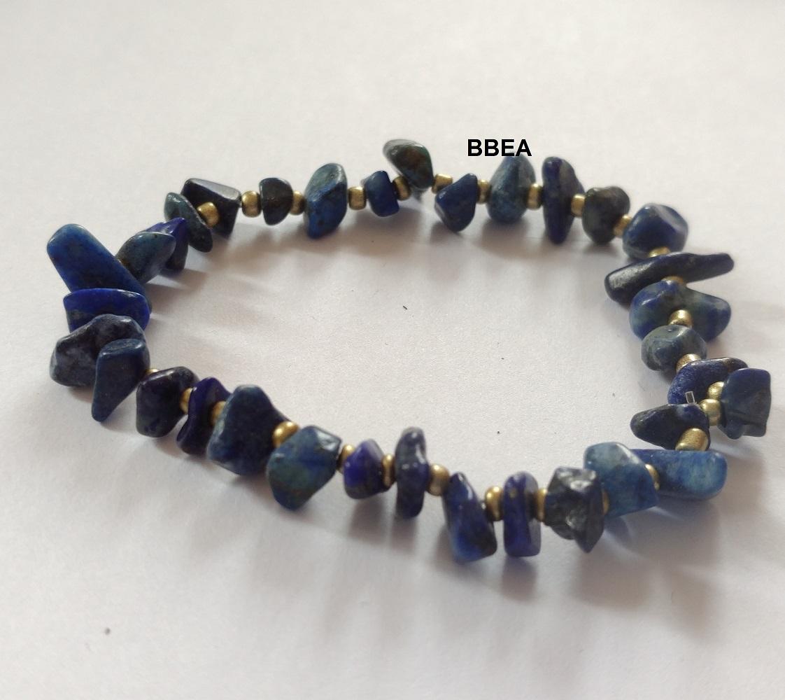 Bracelet lapis lazuli 2 4
